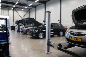 werkplaats autobedrijf van sambeek